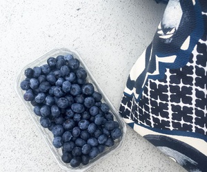 blue, blueberries, and boat image