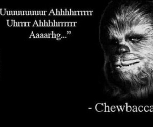 chewbacca, quotes, and funny image