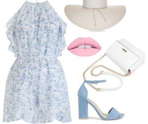 beautiful, blue, and heels image