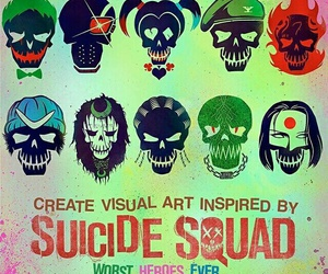 suicide squad and DC image