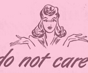 quotes, care, and pink image