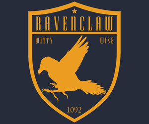 gryffindor, Houses, and ravenclaw image