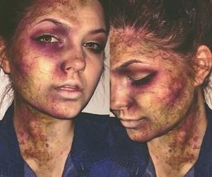 Halloween and zombie image