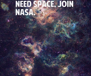 nasa, space, and quote image