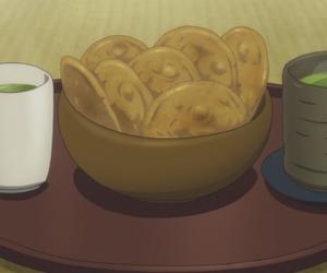 anime, cooking, and gif image