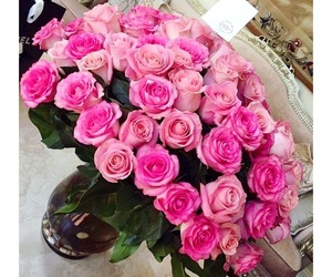 beauty, bouquet, and pink image