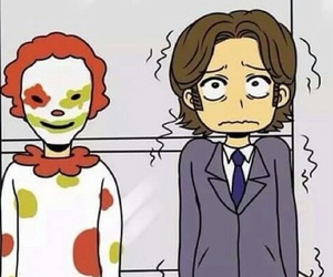 supernatural, clown, and funny image