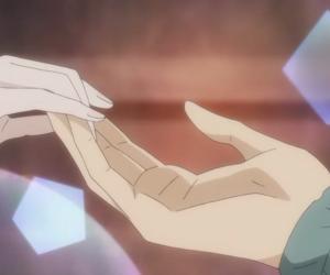 hands, kazehaya, and kimi ni todoke image