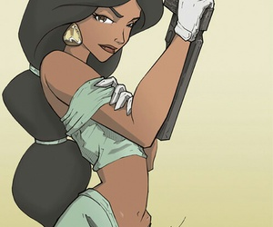 jasmine, princess, and disney image