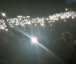 concert, lights, and night image