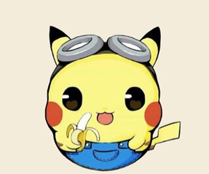 banana, cute, and pokemon go image
