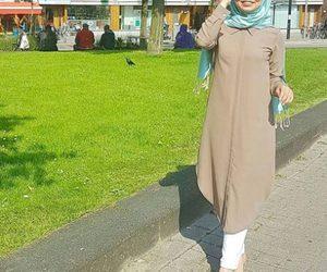 tunic hijab outfit image