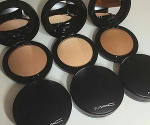 mac, powder, and mac cosmetics image