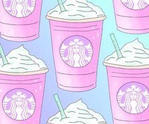 pink, purple, and coffee image
