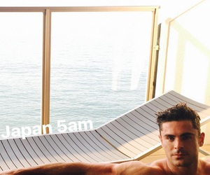 japan, zac efron, and Hot image