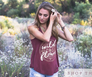 beauty, bohemian, and style image