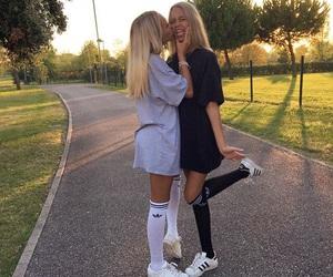adidas, lisaandlena, and twins image