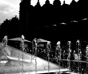 blackandwhite, cracow, and Poland image