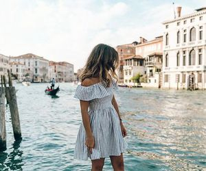 fashion, travel, and dress image