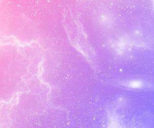 galaxy, pink, and pastel image