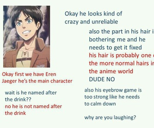 anime, commentary, and funny image