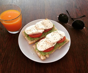 avocado, breakfast, and fitness image