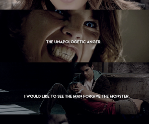 couple, Relationship, and teen wolf image