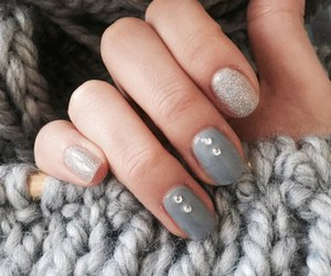 fashion, nail arts, and girls image