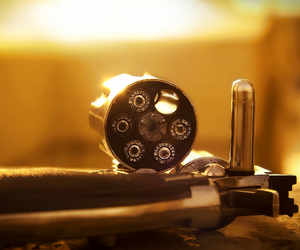 bullets and gun image