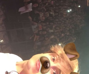 fans, auryn, and snapchat image