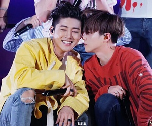 Ikon, jinhwan, and hanbin image