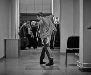 backstage, dancer, and ballet image