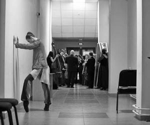 backstage, ballet, and dance image