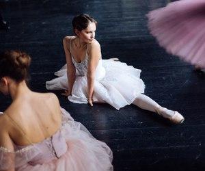 ballerina, ballet, and dancer image