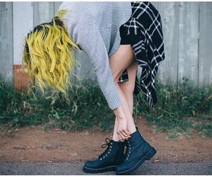 alternative, dr martens, and fashion image
