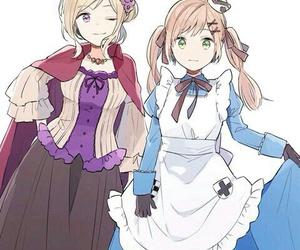 anime girl and nyotalia image