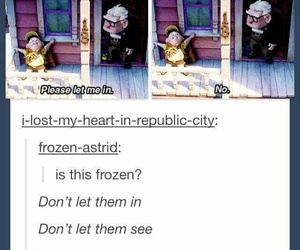 frozen, up, and lol image