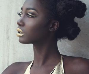 gold and hair image