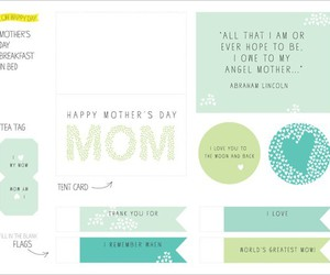 craft, mothers day, and diy image