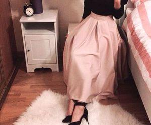 blush skirt hijab image