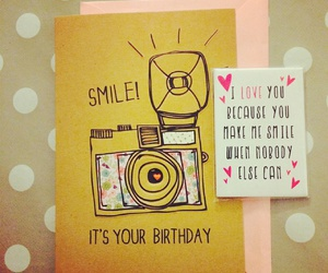 birthday and smile image