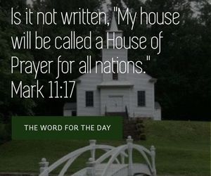 church, bible verse, and church quotes image