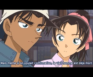 couple, detective conan, and heiji image