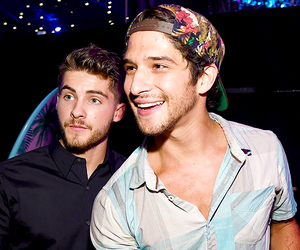 tyler posey, cody christian, and teen wolf image
