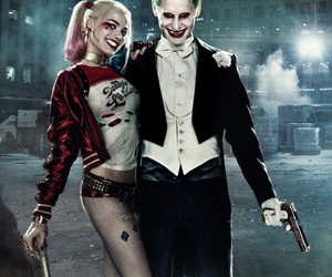 harley, suicidesquad, and joker image