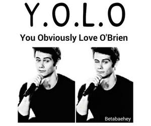 teen wolf, dylan, and yolo image