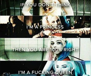 suicide squad, harley quinn, and Queen image