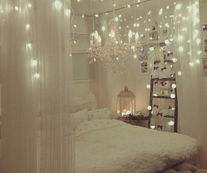 light, bedroom, and white image