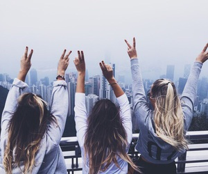 free, pretty, and friendship image