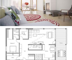 blueprints, home, and house image